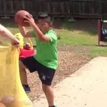 Fitkids class - basketball